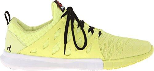 Reebok Heren Zrx Tr Hoge Vis Groen / Zwart / Witte Sneaker 9.5 D (m)