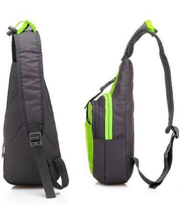Hilitchi Outdoor Sports casual Unbalance Backpack Crossbody Sling spalla petto borsa
