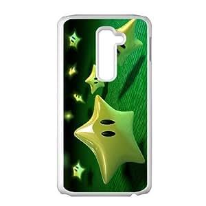 Super Mario Bros LG G2 Cell Phone Case White wjff