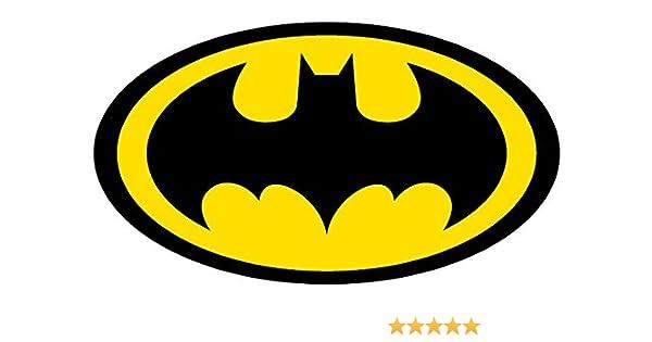 Batman Logo 4 To 18 Full Color Vinyl Decal Sticker