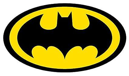 amazon com batman logo 4 to 14 full color vinyl decal sticker