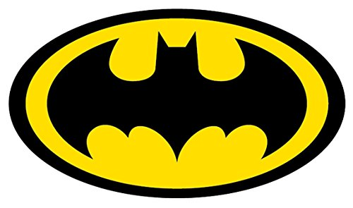 12 Inch Vinyl Decal - Batman Logo 4
