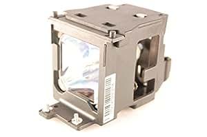 Kosrae best-sold ET-LAE100Original lámpara bombilla con carcasa compatible para Panasonic PT-AE100/pt-ae100e/PT-AE200/pt-ae100e/PT-AE300/pt-ae300e/PT-L300U Proyector