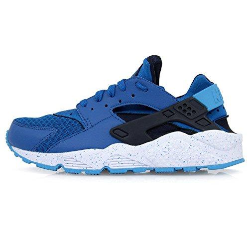 Nike Mens Air Huarache Military Blue White Trainer