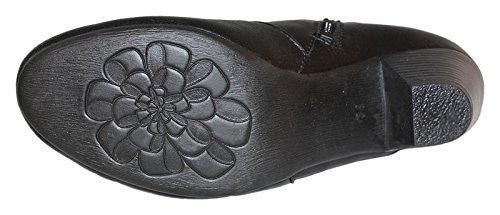 Natural Feet Tessamino Vienna Stiefelette Damenstiefel Schwarz H