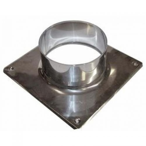 Kaminaufsatz Schornsteinaufsatz PIPE aus Edelstahl DN 150 mm Auswahl Untergestell Untergestell 150 mm Nein