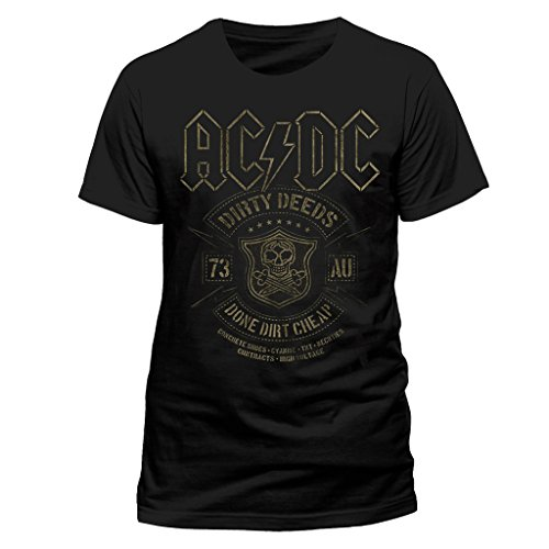 ACDC Rock or Bust T-Shirt (Black) - 7