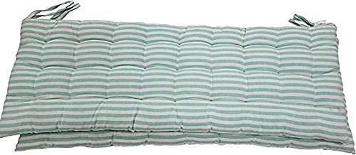 "Melange 100% Cotton 44"" x 17"" Bench Cushion, Lime Green"