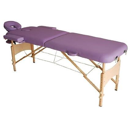 Homcom Lettino Da Massaggio Portabile Massagio Fisioterapia