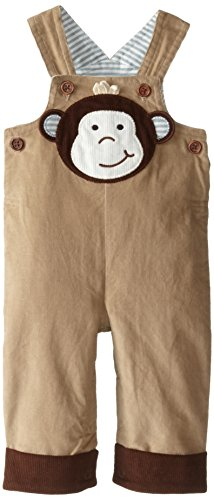 - Mud Pie Baby Boy Shortall Short Sleeve, Brown, 12-18 Months