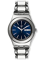 Swatch Women's Irony YLS713G Silver Stainless-Steel Swiss Quartz Watch