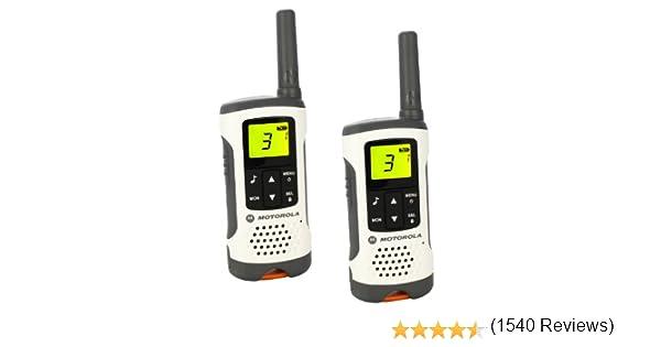 Motorola Walkie Talkie T50 - Pack 2 unidades: Motorola: Amazon.es: Electrónica