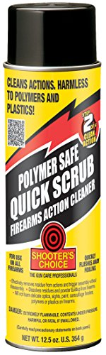 Shooter's Choice Polymer Safe Quick Scrub Aerosol Can, 12 ()