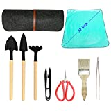 Bonsai Tool Kit Deluxe -Bonsai Tools Accessories 9 Piece Set