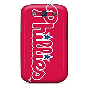 Hellocases Scratch-free Phone Case For Galaxy S3- Retail Packaging - Philadelphia Phillies