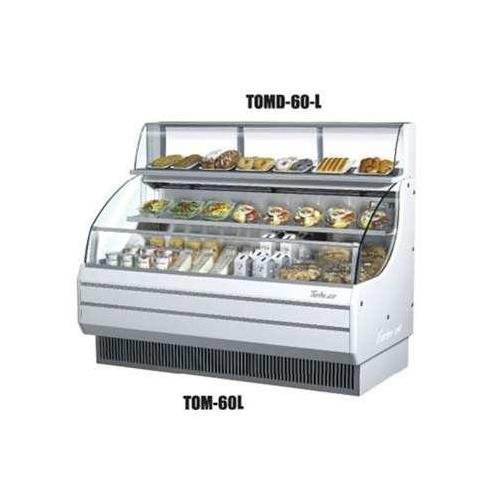 "Price comparison product image Turbo Air TOMD60L 63"" Non Refrigerated Top Case for Open Display Merchandiser: Low Profile"