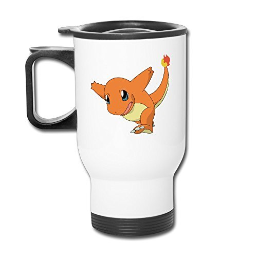 Charizard Charmander Pokemon Travel Coffee Mugs Tumblers Mug Cup (Charizard Coffee Mug)