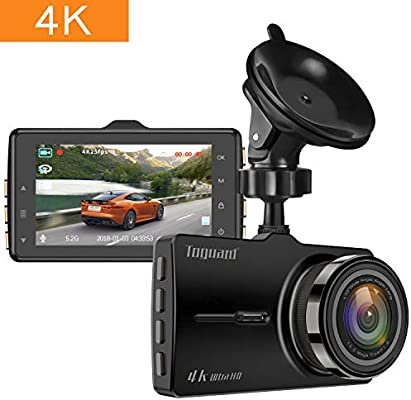 Amazon.com: 4k Dash Cam,TOGUARD Ultra HD Dash Camera for Car ...