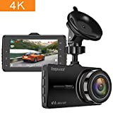 "TOGUARD Dash Cam 4K UHD Car Dash Camera 3"" LCD Dashboard Camera"