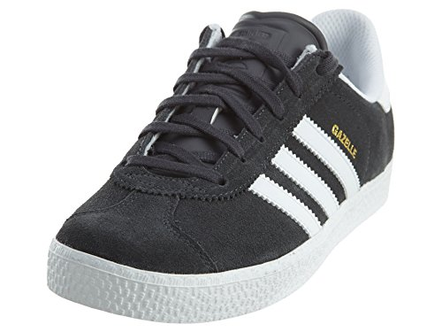 adidas Youths Gazelle 2 Grey Leather Trainers 6 US ()