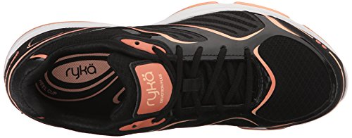 Walking Nectar Coral Black Devotion Plus Peach Ryka Women's Fusion Shoe qP6Bvntx