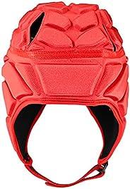 Soft Padded Headgear Football Helmet Adjustable for Kids Youth Adult Soccer Goalie Baseball Hockey Goalkeeper