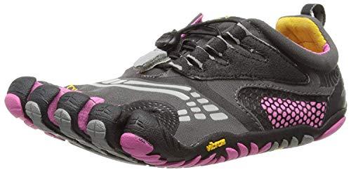 (Vibram Women's FiveFingers, KomodoSport LS Multi-Sport Minimalist Shoe Gray Pink 3.8)