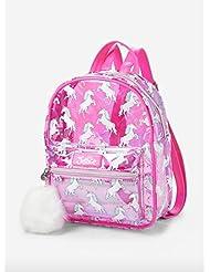 Justice Transparent Unicorn Mini Backpack