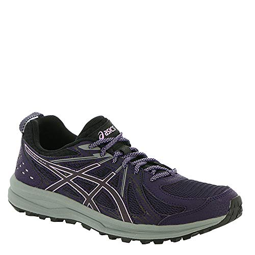 ASICS Frequent Trail Women's Running Shoe, Night Shade/Black, 9 B US