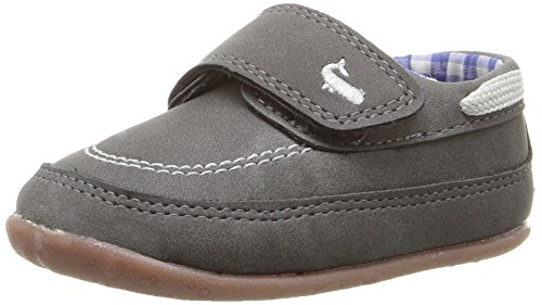 Carter's Every Step Boy's Standing Shoe, Finn, Grey, 3.5 M US Toddler