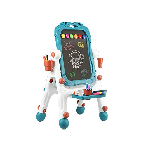 kids toys Wokasun.JJ Multifunctional Double Sided Black//White Wooden Easel With Alphanumeric MagnetBest-selling toys