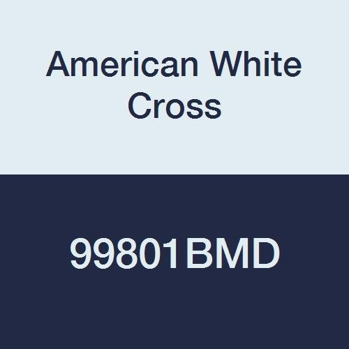 (American White Cross 99801BMD Blue Metal Detectable Adhesive Strips, Sterile, Lightweight, 3 per 4