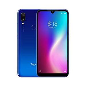 Redmi 7 3GB RAM 32GB ROM Dual SIM Snapdragon 632 Octa Core 4000mAh Redmi Seven Smartphone (Blue) [Versión Global] 41Vd5PCs FL