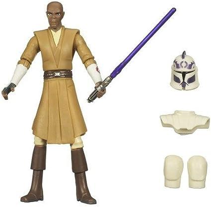STAR Wars Mace Windu il Clone Wars Action Figure