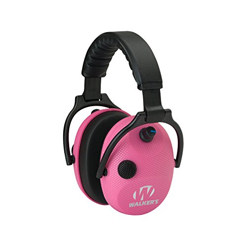 Price comparison product image GSM Outdoors WGE-GWP-AMPKCARB Alpha Power Muffs, Elec Pink Carbon, SSL