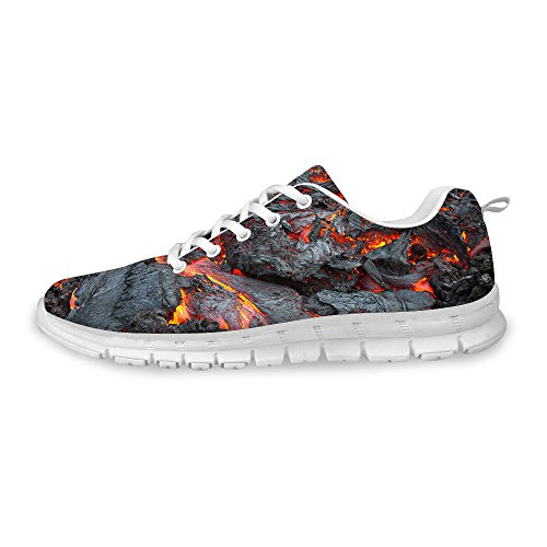 Mesh Unisex Breathable Sneaker 4 FOR Runner Train Gusto Running Gray DESIGNS Flex Fashion U Shoes vn8gB0