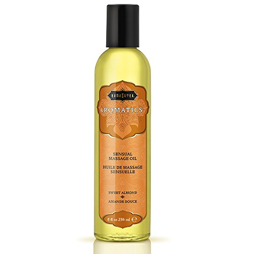 Kama Sutra Massage Oil, Sweet Almond, 8 Ounces