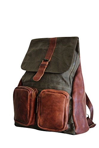 sharo-leather-bags-leather-and-canvas-backpack-green-and-brown-two-tone