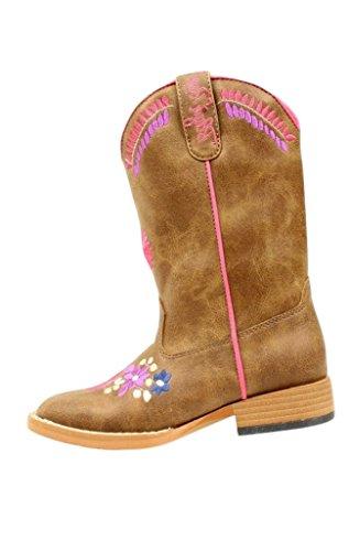 Blazin Roxx Girls' Sashay Floral Embroidered Cowgirl Boot...
