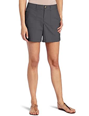 Dockers Women's Utility Promo Short, Hurricane, 4