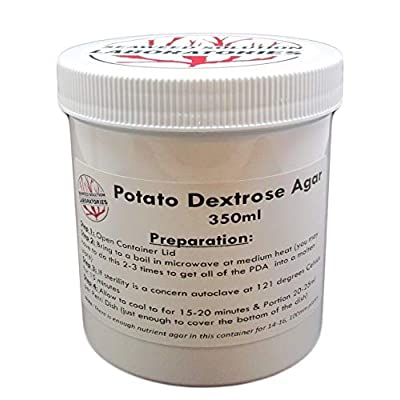 Potato Dextrose Agar (PDA), 350 Milliliters - Sterilized: Toys & Games