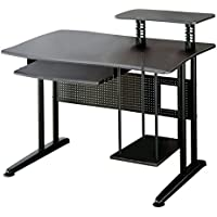 Coaster Metal Home Office Computer Workstation Desk, Black