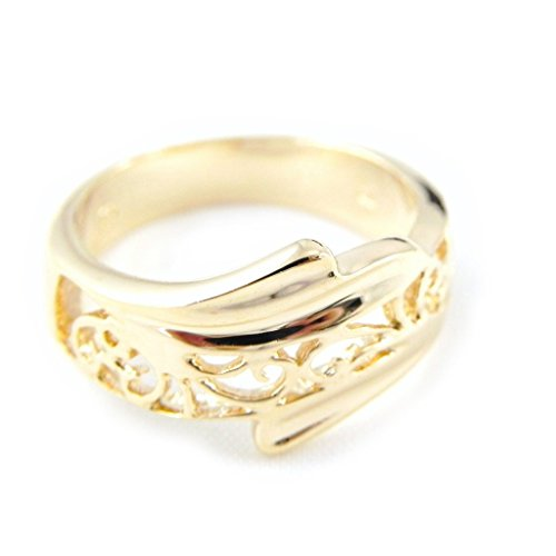 Reverence Costumes (Ring plated gold 'Reverence Filigrane' .)