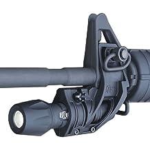 Elzetta ZFH1500B-T AR15 Tactical Flashlight Holder with Thumbscrew, Matte Black