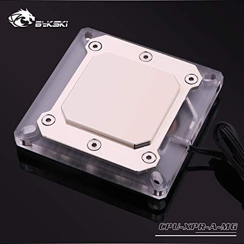 Bykski CPU-XPR-A-MG RGB Led CPU Water Cooling Block for Intel 115x 2011 2066 Black 12v RGB