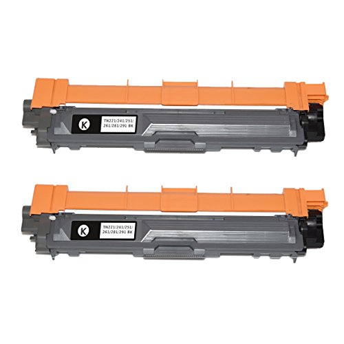 TN221 TN225 Compatible Toner Cartridges for use with Brother HL-3170CDW HL-3140CW HL-3150CDW HL-3180CDW MFC-9130CW MFC-9340CDW DCP-9020CDW MFC-9330CDW MFC-9140CDN Series Printer (Yellow Developer Unit Cartridge)