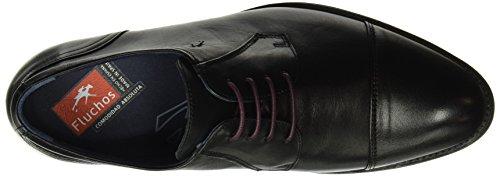 Spain Fluchos Negro Nero Memory Negro Scarpe retail ES 8412 Derby Heracles Uomo EHZ1q