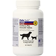 Pala Tech Cranberry Plus Chew Tabs 60 ct