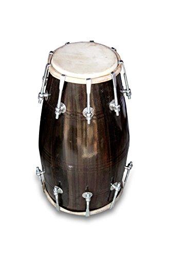 HANDMADE BOLT DHOLAK DRUMS MANGO WOOD DHOLKI YOGA BHAJAN KIRTAN EHS AH0029 by SAI MUSICAL