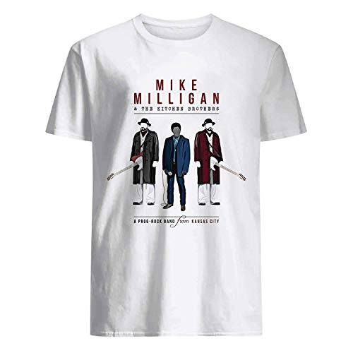 (USA 80s TEE Mike Milligan & The Kitchen Brothers Shirt)